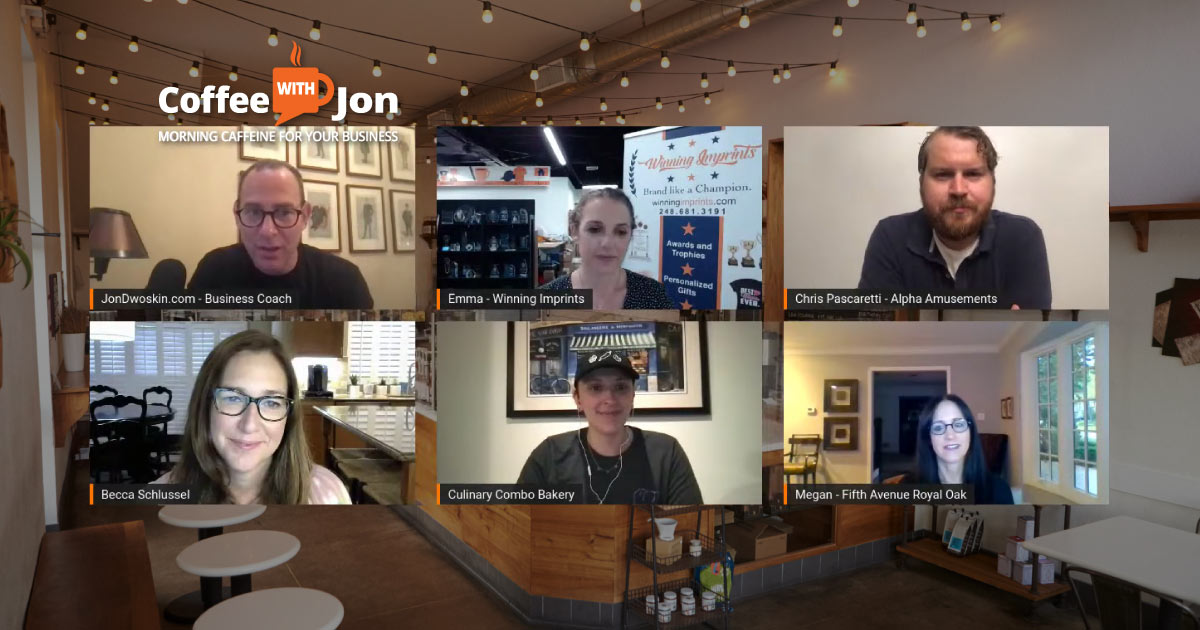 Coffee with Jon: More on Events