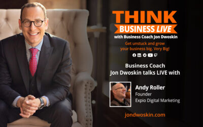 THINK Business LIVE: Jon Dwoskin Talks with Andy Roller