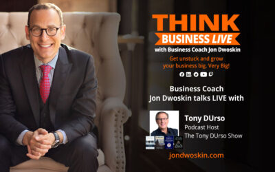 THINK Business LIVE: Jon Dwoskin Talks with Tony DUrso