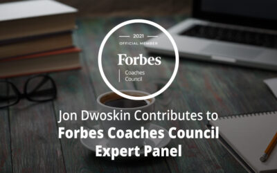 Jon Dwoskin Contributes to Forbes Coaches Council Expert Panel: 14 Resources For Aspiring Entrepreneurs With Zero Business Experience
